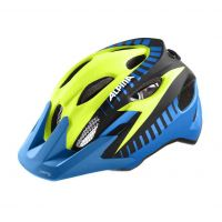 Alpina Helm Carapax jr. Flash blue-yellow-blk Gr.51-56 8J
