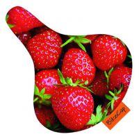 Bikecap Sattelüberzug Erwachsene Strawberry