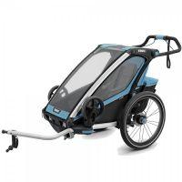 Thule Chariot Kinderanhänger Sport 1 blau