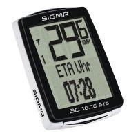 Sigma Sport Fahrradcomputer BC 16.16 STS schwarz 01617