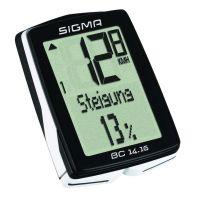 Sigma Sport Fahrradcomputer BC 14.16 mit Höhenmesser und CAD