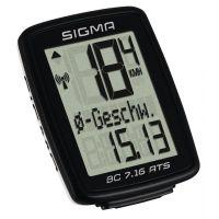 Sigma Sport Funk-Computer BC 7.16 ATS schwarz 07162 schwarz