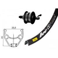 "Bike-Parts V-Rad 26x1.90""Nabd.DH3D37Centl.sz.SSP36L"