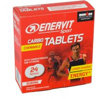 Enervit Chew Carbo Tabletten Lemon