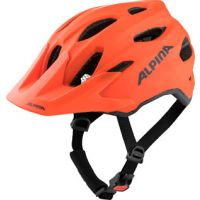 Alpina Helm Carapax jr. pumpkin orange matt Gr. 51-56 1J