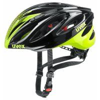 UVEX Helm Boss race black lime Gr.55-60 1J