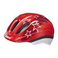 KED Helm Meggy Red Stars Gr.52-58 M 1J
