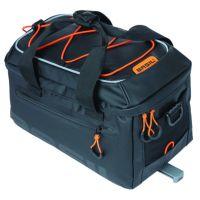 BASIL Gepäckträgertasche Tarpaulin MIK schwarz orange 1J