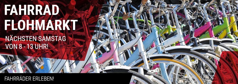 Fahrrad-Flohmarkt im RADHAUS Ingolstadt