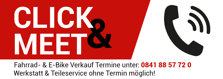 Click & Meet im RADHAUS Ingolstadt