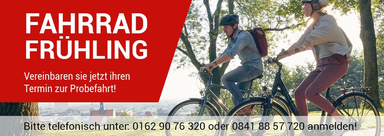 Fahrradfrühling im RADHAUS Ingolstadt