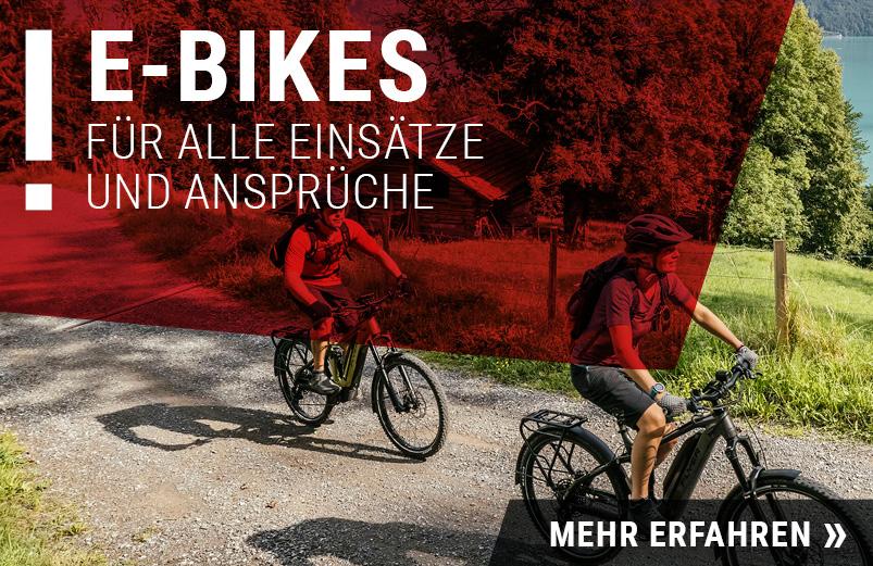 E-Bikes im RADHAUS Ingolstadt