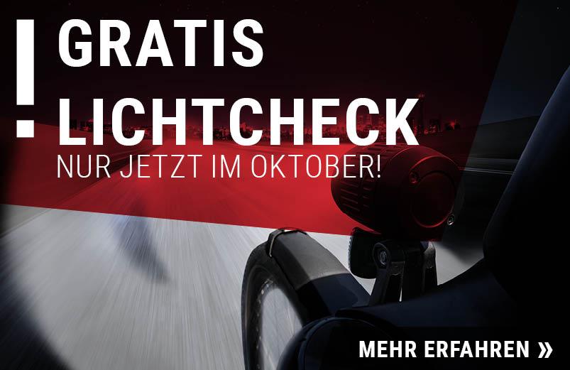 Gratis Lichtcheck im RADHAUS Ingolstadt